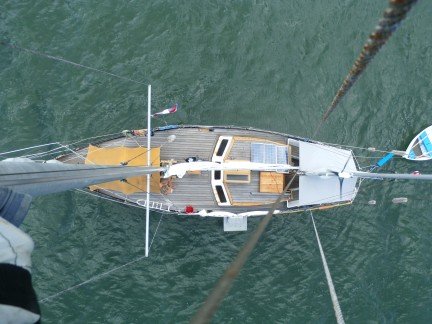 3 14 From the top of the Mast
